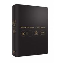 Bíblia Nvi Bilíngue Português Inglês Capa Luxo