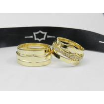 Alianças Diferentes Casamento Ouro