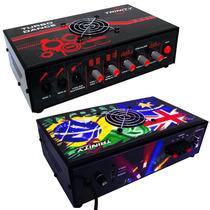 Amplificador Mesa Turbo Dance Trinity 5.1 300w Rms 2 Canais