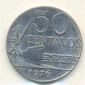 Moedas De 50 Centavos De 1976