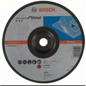 10pack Disco 9 Corte Metal Acero Bosch Esmeriladora Enviogra