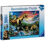 Educando Puzzle Ravensburger 100 Pcs Dinosaurios Prehistoric