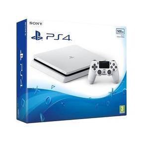 Sony Playstation Ps4 Slim 500gb Blanca Nueva Electrodelnorte