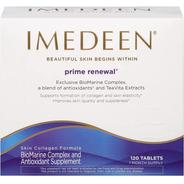 Imedeen Prime Renewal +50 Com 120 Cáps Importado Usa