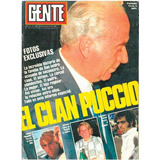 Revista Gente N°1049 - 1985 - El Clan Puccio