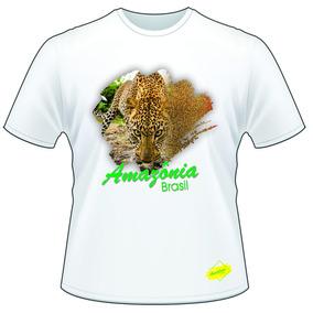 Camisetas Animais Amazônia ( Kit Com 5 Camisetas)