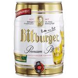 Cerveza Bitburger Barril 5 Lts. - Envio Sin Cargo!!!
