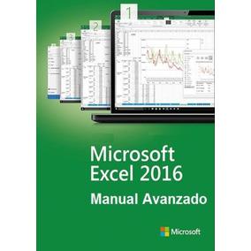 Manual Avanzado De Excel 2016 En Digital