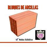 Bloques De Arcilla 10, 12, 15 , 20