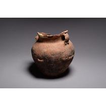 Vaso Chinês De Terracota Idade Do Bronze (2200 - 1600 A C.)