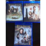 Trilogia Blu Ray El Señor De Los Anillos. Full Hd