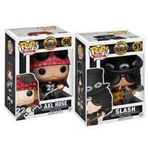 Slash Axl Rose Funko Pop Guns N Roses Rock