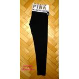 Pantalón Leggings Negra Lentejuelas M Pink Victoria