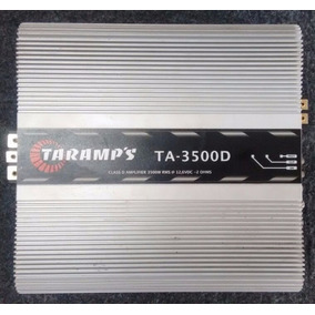 Amplificador 3500 Watts Rms 2 Ohm - Ta 3500d 2 Ohm Taramps