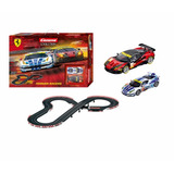 Pista Auto Slot Scalectric 1:32 Carrera Ferrari Racing