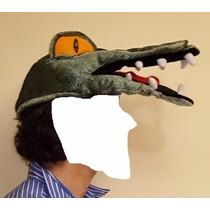 Disfraz Mascara Sombrero Carnaval Cocodrilo Lagarto Pantano