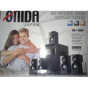 Home Theater Onida Japón 5.1 20.000w, Usb, , Fm