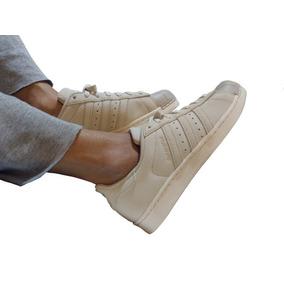 Zapatillas adidas Superstar Originales Cuero Beige