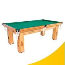 Mesa De Snooker Cerejeira Com Pedra Ardósia + Kit Completo