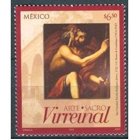 2007 Arte Religioso Sacro Virreinal San Cristóbal S 2551 Mnh