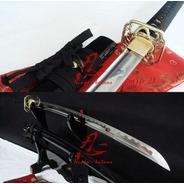 Espada Aço Carbono Aisi 9260 Katana Samurai Afiada Treino