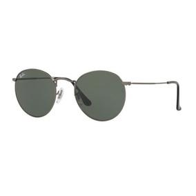 Oculos Sol Ray Ban Round Metal Rb3447 029 53mm Grafite Verde 0dea9f796a