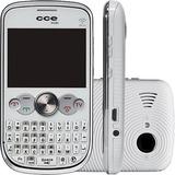 Celular Cce Mobi Qw30 Branco Dual Chip Tv Analógica Mp3
