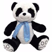 Oso Panda Con Bufanda! Super Suaves!