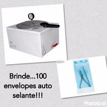 Autoclave Salão De Beleza Manicure Podologia 8l Com Brindes