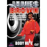 Dvd - James Brown Body Heat