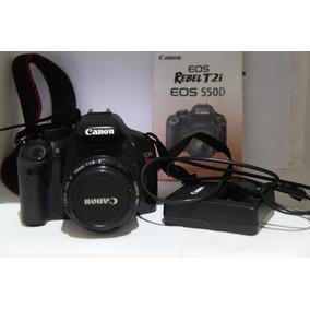 Canon T2i + Lente Ef-s 50mm 45.900cliks +acessórios