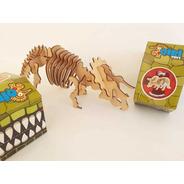 Rompecabezas 3d Madera Puzzle Dinosaurios Baum