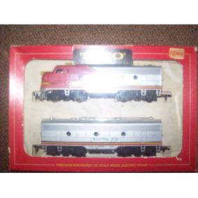 Locomotora Tyco Con Vagon Santa Fe