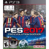 Pro Evolution Soccer 2017 Pes 17 Ps3 (relatos Argentinos)
