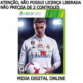 Fifa 18 - Xbox 360 - Midia Digital
