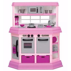 Cocina Luces Y Sonidos Cocinita Para Niñas 22 Accesorios
