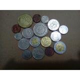 16 Monedas Americanas (+ 1 India)