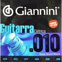 Encordoamento Guitarra Giannini 010 ( P R O M O Ç Ã O )