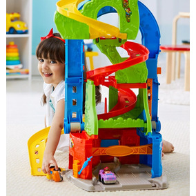 Fisher Price Little People Pista Paseos Divertidos 2 En 1
