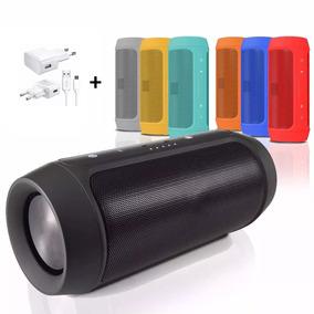Super Caixa De Som Charge 2 Portátil Bluetooth + Brinde!!