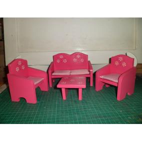 Muebles Para Muñecas, Elaborados En Mdf