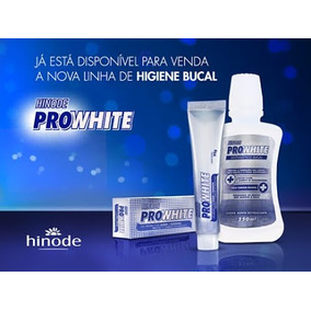3 Gel Dental, 3 Antisséptico Bucal Pro White Hinode