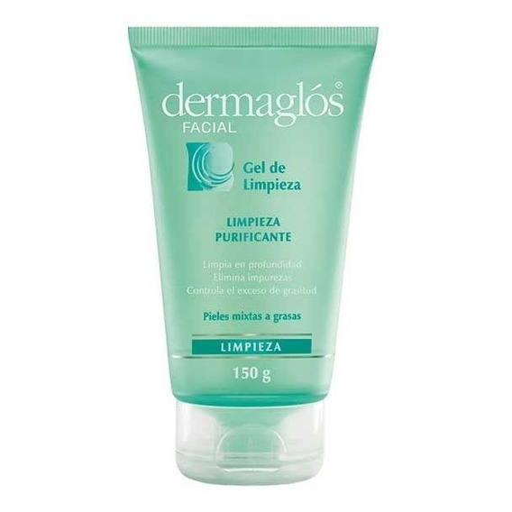 Dermaglos Facial Gel Purificante Piel Mixtas Grasa 150ml