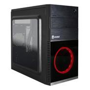 Gabinete Gamer Shin 1 Cooler 120m Red Evolut Gamer Mid Tower