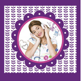 Kit Imprimible Violetta Invitaciones Decoracion Candy Bar