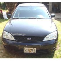 Ford Mondeo 2002, 6 Cil. Calcomania 1, Cuidado, No Se Usa.