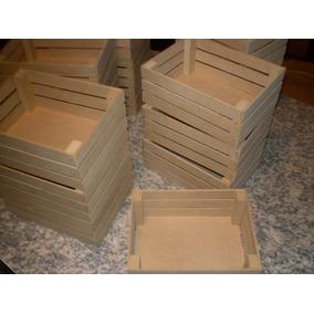 Mini Cajoncitos Verduleros Mdf(10x15x8) 10 Unidades!!