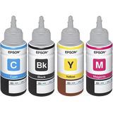 Tinta Epson L120 L220 L300 L375 L475 L395 L475 L495 Pack 4