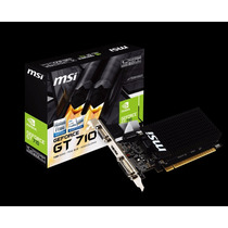 Tarjeta Video 1gb Ddr3 Geforce Gt710 Evga Nvidia Somostienda