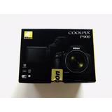 Cámara Coolpix Nikon P900 Negra 24-2000mm
